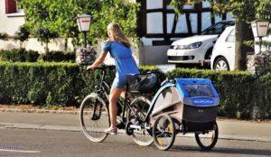 Baby Fahrradanhänger