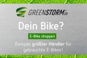 Greenstorm E-Bike Onlineshop