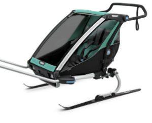 Thule Chariot Lite 2 Ski-Set