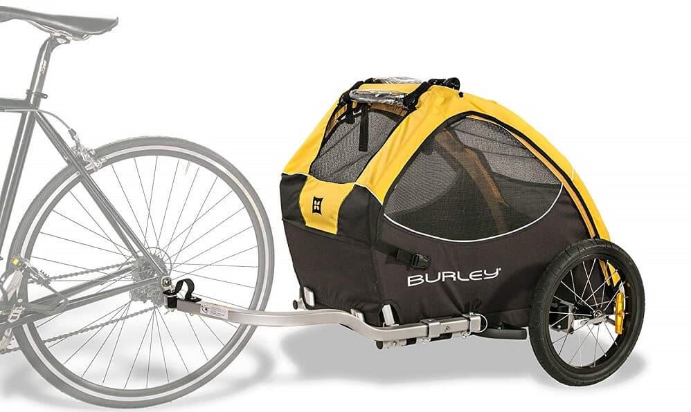 Burley Tail Wagon Lieferumfang