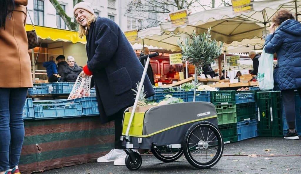 Croozer Cargo Kalle als Bollerwagen