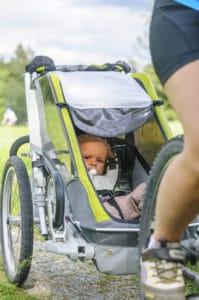 Fahrradtour mit Anhänger